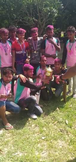 टि- १० क्रीकेट प्रतियोगिता फाइनलमा आयोजकले ५१ रनले विजय