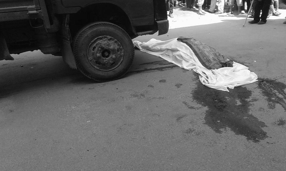 टिप्परको ठक्करबाट साइकल यात्रीको मृत्यु