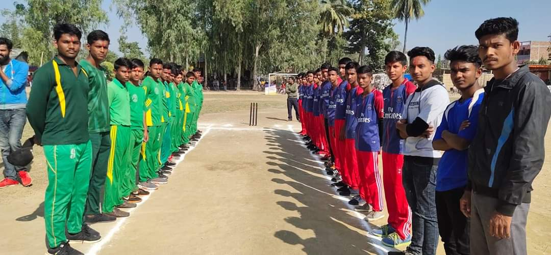 इन्टर स्कुल क्रिकेट खेलमा मनकामना स्कुलको ह्याट्रिक