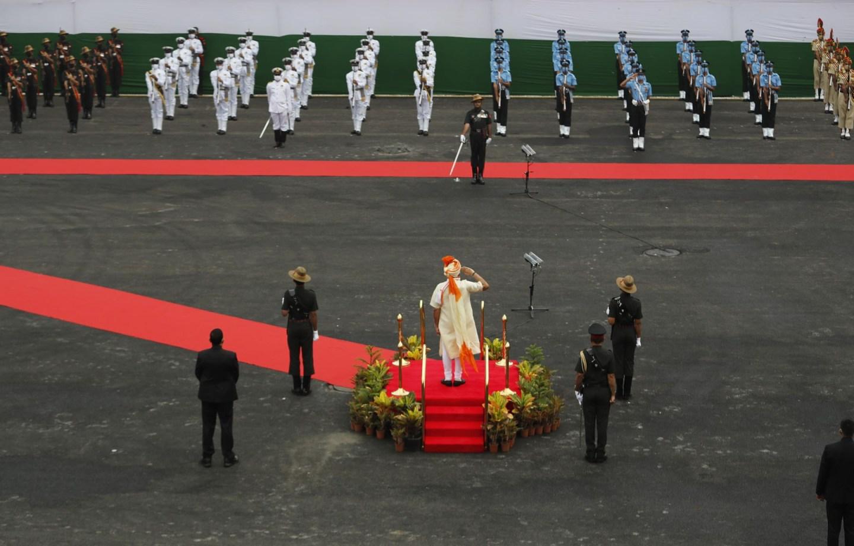 आज भारतको ७४औँ स्वतन्त्रता दिवस, मोदीले गरे सेनाको प्रशंसा