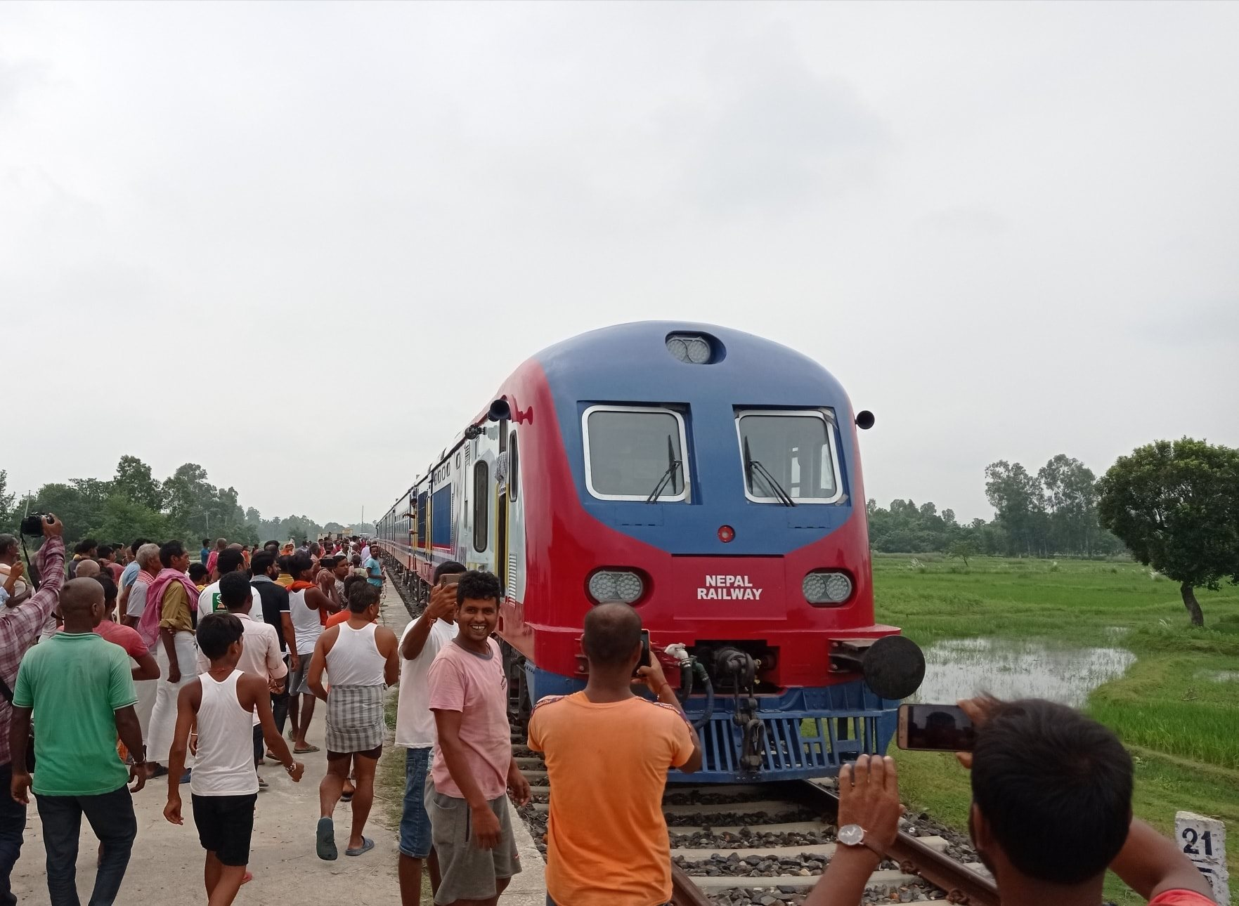 नेपालमा रेल यातायाततर्फको अर्काे यात्रा शुरु