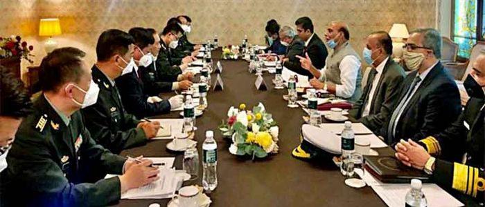 चीन र भारतका रक्षामन्त्रीबीच मस्कोमा भेटवार्ता
