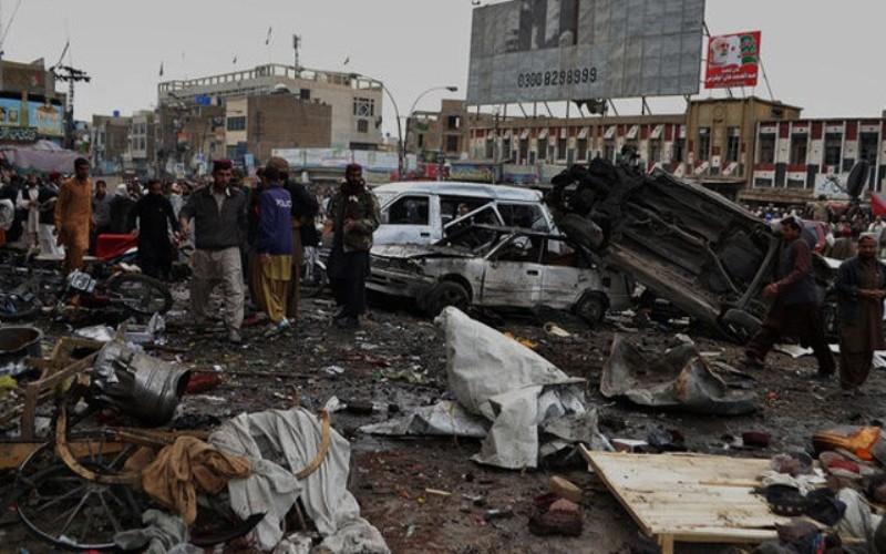 पाकिस्तानमा विस्फोट ः सातको मृत्यु, ११२ घाइते