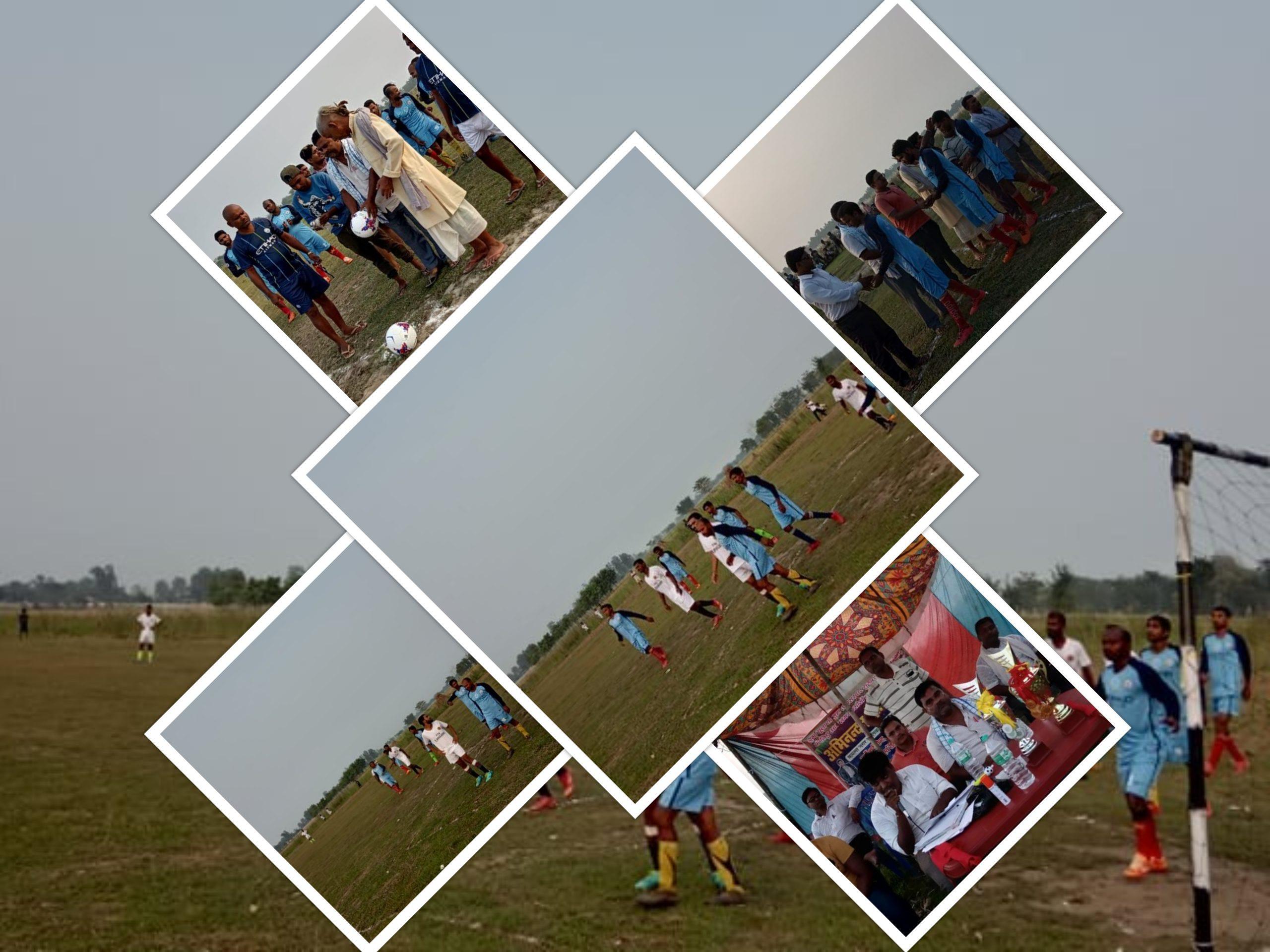 बरेरबामा तेस्रो रनिंग शिल्ड फुटबल प्रतियोगिता सुरु