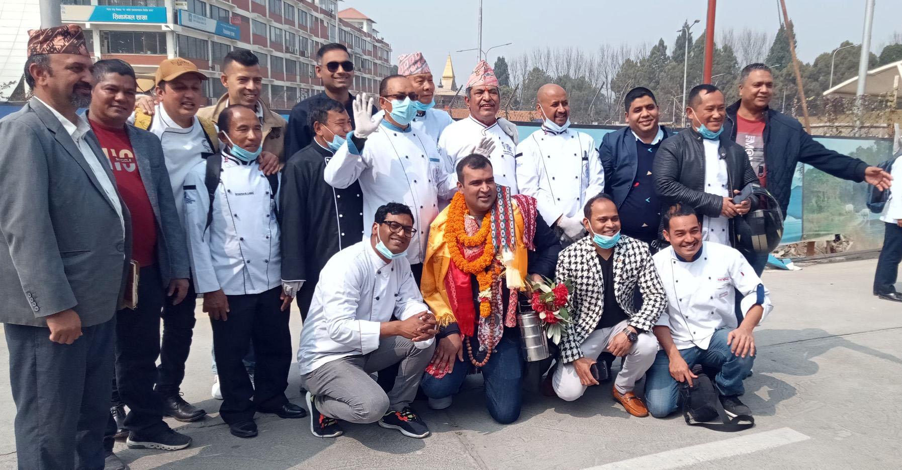 'बिबिसी सो'का चर्चित मास्टर सेफ साह भन्नुहुन्छ, 'नेपाली खाना विश्वभर पस्किँदैछु'