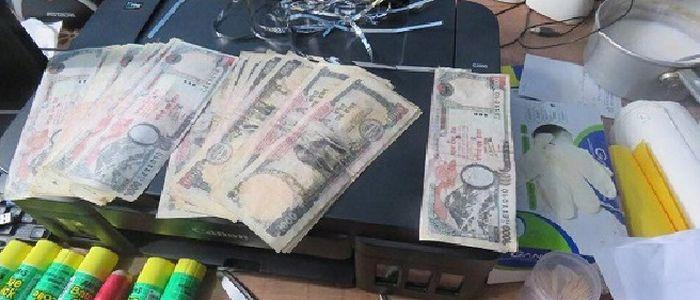 नक्कली पैसा छाप्ने मेसिनसहित एक पक्राउ