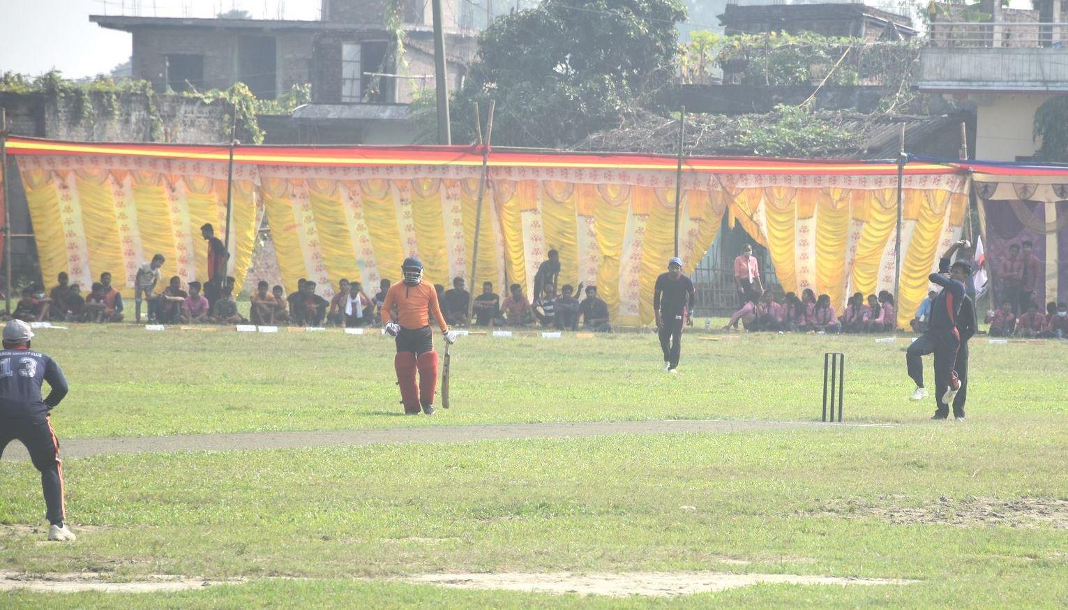मिथिला कप टी–ट्वाइन्टी क्रिकेट प्रतियोगीताको पहिलो खेलमा लहान विजय